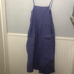 Purple urban renewal midi dress